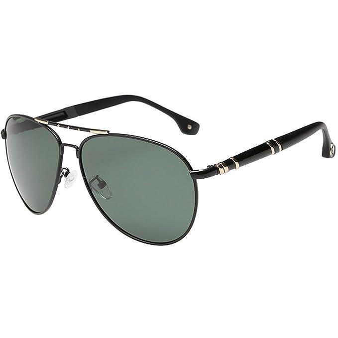 Amazon.com: lerben Mens Diseñador UV406 polarizadas anteojos ...