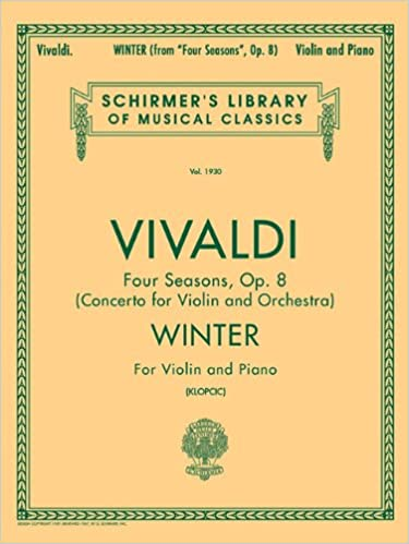 Schirmer Library of Classics Volume 1930 Violin and Piano Schirmer Library of Classics Volume 1930