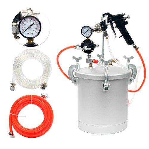 hvlp pressure pot spray gun - 4