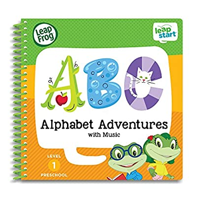 LeapFrog LeapStart Level 1 Preschool 4-in-1 Activity Book Bundle with ABC, Shapes and Colors, Math, Animals by Leapfrog