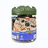 Sunny Days Entertainment Maxx Action Elite Force Toy Army Figures with Army Men, Tanks, Trucks, Helicopters, Border Walls, Fences, Soldiers and Storage Container