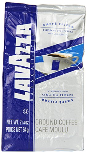 Lavazza Gran Filtro Ground Coffee, 2.25-Ounce Bags (Pack of 30) (Lavazza Gran Filtro Ground Coffee)