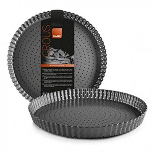 Ibili Curled Perforated Loose Base Tart Pie Moluld Pan