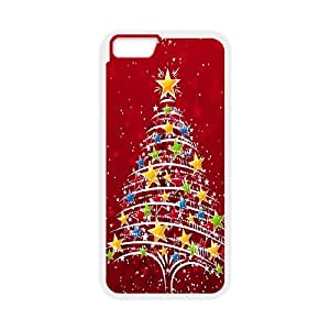 iPhone 6 Plus 5.5 Inch Cell Phone Case White Christmas Tree OJ592655