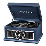 Victrola 4-in-1 Nostalgic Plaza Bluetooth Record