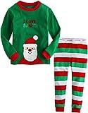 Vaenait Baby Kids Boys Chirstmas X-Mas Sleepwear Pajama Set I love Santa XS