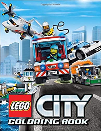 LEGO City Coloring Book: 35 Illustrations
