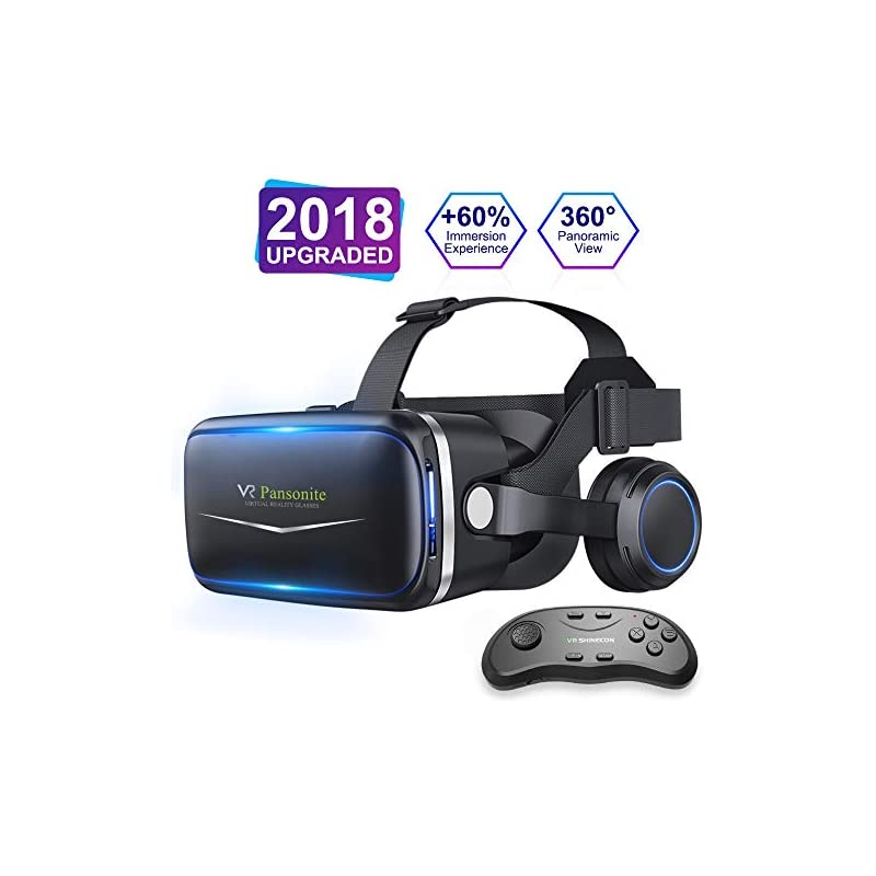 Pansonite Vr Headset with Remote Control