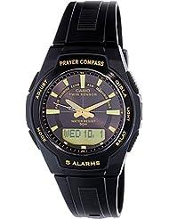 Casio Mens Core CPW500H-1AV Black Plastic Quartz Watch with Black Dial
