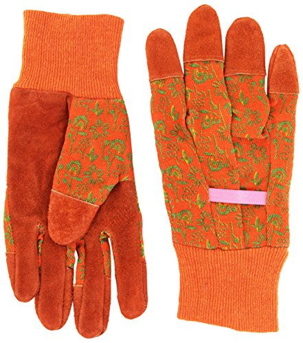 Cat Leather Palm Gloves - 6