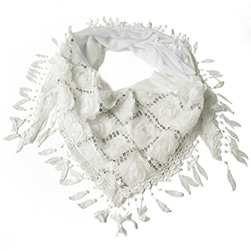 Kofun Cotton Blend Scarf, Women Tassel Shawls Scarves, used for sale  Delivered anywhere in Canada