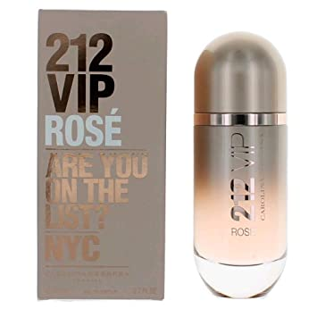 212 VIP ROSE by Carolina Herrera 2.7 Ounce / 80 ml Eau de Parfum Women Perfume Spray