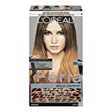 Feria Brush-on Ombre Effect Hair Color, O60 Wild Ombre for Medium to Dark Brown Hair (Packaging May Vary)