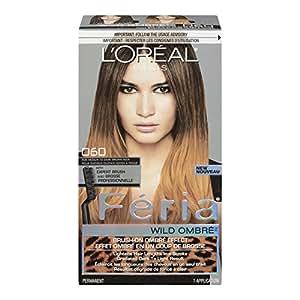 L'Oréal Paris Feria Wild Ombre Hair Color, Medium to Dark Brown
