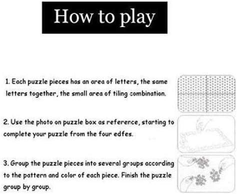 Yqgdss Puzzle 3D DIY Animale Piccola Anatra Gialla 500 Pezzi per Adulti Giocattoli Educativi per Bambini Regalo Art 200 Piece