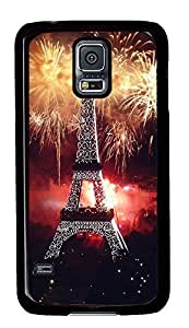 Samsung S5 case luxury covers Eiffel Tower Designs PC Black Custom Samsung Galaxy S5 Case Cover