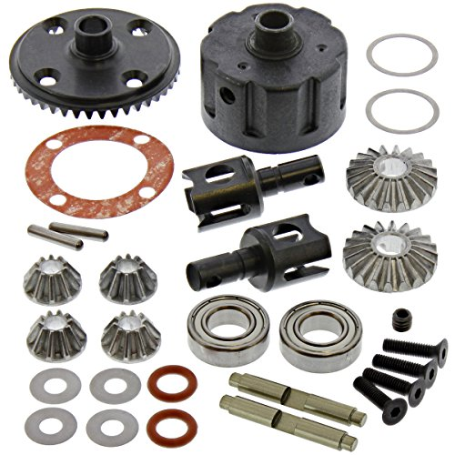 (Kyosho 1/8 Inferno MP9 TKI4 Front/Rear Differential, 43T Ring Gear Outdrive)