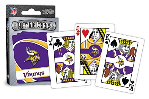 (MasterPieces NFL Minnesota Vikings Playing Cards)