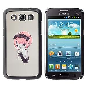 EJOY---Cubierta de la caja de protección la piel dura para el ** Samsung Galaxy Win I8550 ** --Pin del vintage encima