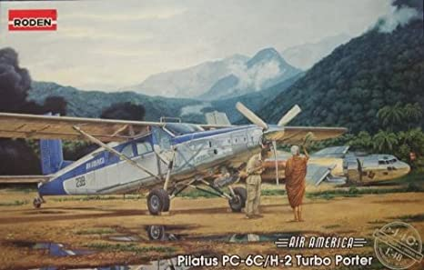 Roden Pilatus PC-6C/H-2 Airplane Model Kit