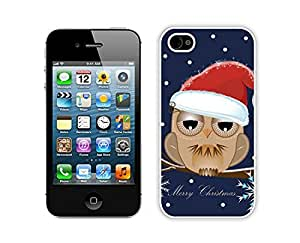 Recommend Design Christmas Owls White iPhone 4 4S Case 3 by lolosakes