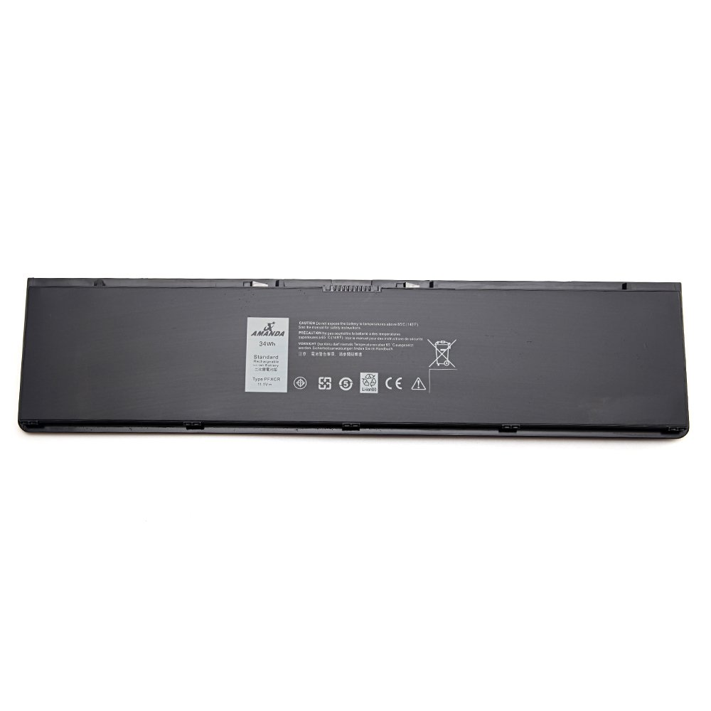 Bateria PFXCR 34WH 11.1V para Dell Latitude E7440 Ultrabook 14 7000 F38HT T19VW PFXCR G0G2M 451-BBFT 451-BBFV 451-BBFY
