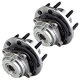 #5: Scitoo New Front Ford Super Duty F-350 , F-250, Excursion ABS 4x4 Wheel Hub Bearing Assembly 8 lugs 515020 X 2