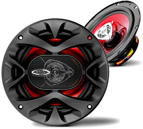 BOSS Audio Systems CH6520 Car Speakers – 250 Watts of Power Per Pair, 125 Watts Each, 6.5 Inch, Full Range, 2 Way, Sold in Pairs, Black