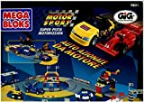 Mega Bloks Motor Sport Build & Race Speedway 900 Pieces