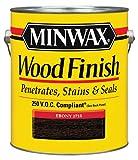 Minwax 710960000 Wood Finish - Penetrates, Stains & Seals, 250 VOC, gallon, Ebony