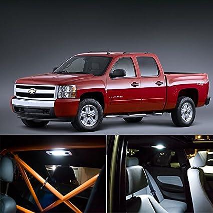 Amazon Com Switchcarparts Chevrolet Silverado Interior Package Led