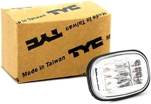 Tyc 18 5833 01 2 Blinkleuchte Fahrtrichtungsanzeiger Blinklicht Blinkleuchte Seitlicher Einbau Beidseitig Auto
