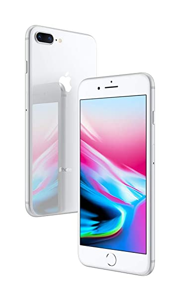 Apple iPhone 8 Plus (64GB) - Silver at amazon