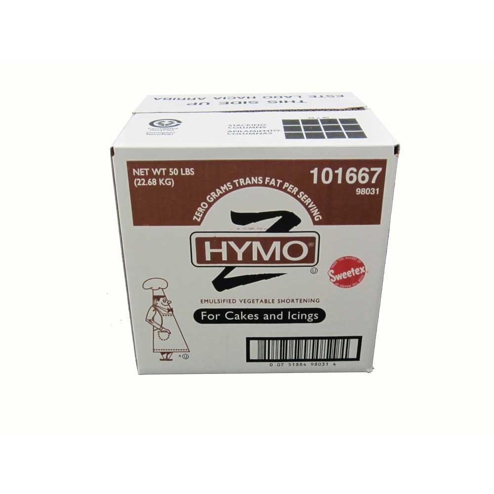Hymo Cake and Icing Shortening Zero Tran, 50 Pound -- 1 each. by Stratas Foods