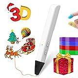 3D Pen,3D Drawing Printing Pen,3D Printing Pens Kit with 4 Bonus PLA 1.75mm