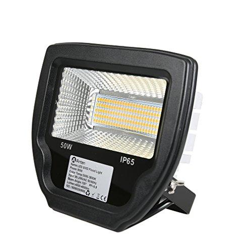 Anten LED Strahler Fluter 50W Flutlicht IP65 Wasserdichte 4000-4500LM warmweiß