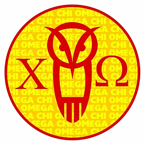 Price comparison product image Express Design Group Greekgear Chi Omega Chi O Mascot Round Decals
