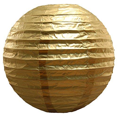 LumaBase-78705-5-Count-Paper-Lanterns-10-Gold