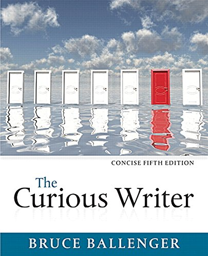 Curious Writer, Concise Edition, The, Plus MyLab Writing -- Access Card Package (5th Edition)