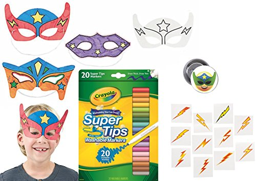 Super (Party Mask Designs)