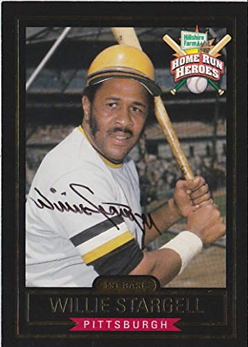 willie-stargell-signed-hillshire-farms-homerun-heroes-pittsburgh-pirate-card-coa