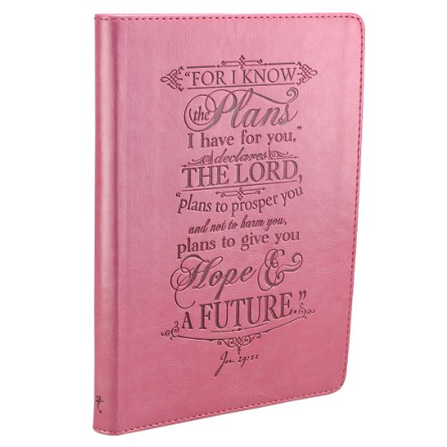 I Know the Plans Pink Flexcover Journal