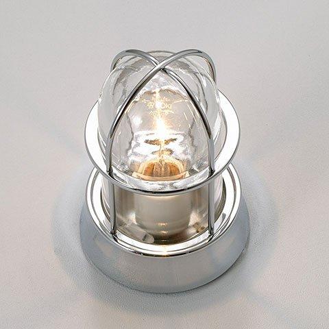 門柱灯 ガーデンライト マリンランプ シルバー(銀) BH1000 CR CL B019XIAGQW 23004 BH1000 銀色塗装クリアガラス BH1000 銀色塗装クリアガラス