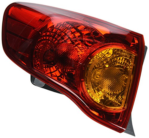 2010 toyota corolla tail light - 1