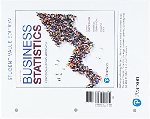Business statistics student value edition plus mylab statistics business statistics student value edition plus mylab statistics with pearson etext access card package 10th edition 10th edition fandeluxe Image collections