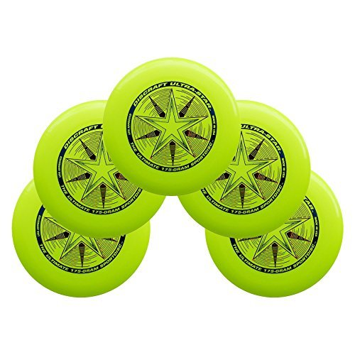 Discraft Ultra-Star 175g Ultimate Sportdisc Yellow (5 Pack) by Discraft