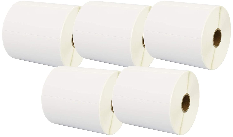 20 rollos, 1000 etiquetas por rollo Cinta para impresoras de etiquetas Zebra Prestige Cartridge Zebra 100x50mm