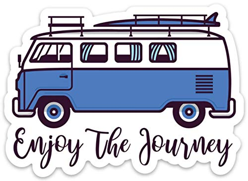 Enjoy The Journey Sticker Decal Adventure Surf Camping 4
