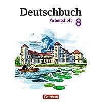 Deutschbuch Gymnasium - Östliche Bundesländer und Berlin: 8. Schuljahr - Arbeitsheft mit Lösungen