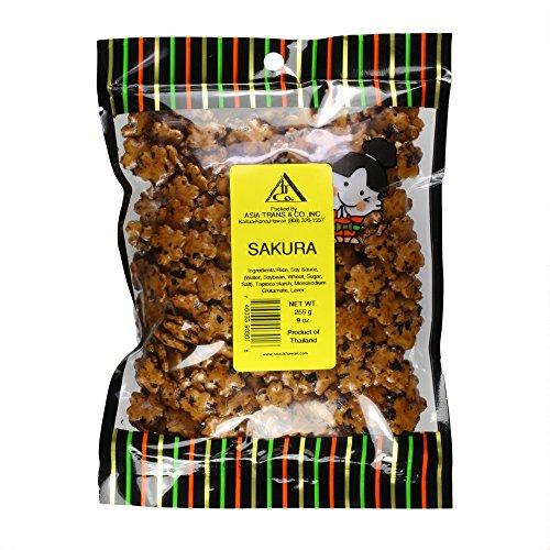 Sakura Arare Rice Crackers, 9 Ounce ()